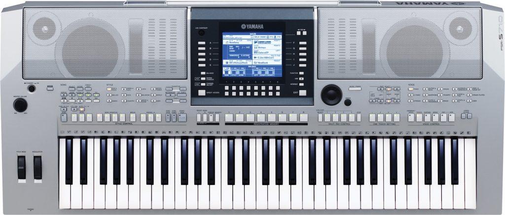 Đàn Organ Yamaha PSR S950 màu bạc