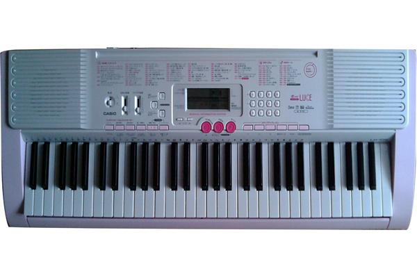 Đàn organ casio LK-105-CANAAN MUSIC